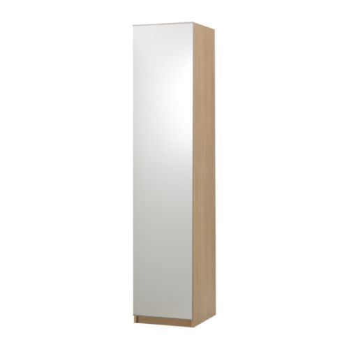 PAX Wardrobe with 1 door IKEA If you want to organise inside you can complement with interior organisers from the KOMPLEMENT series.