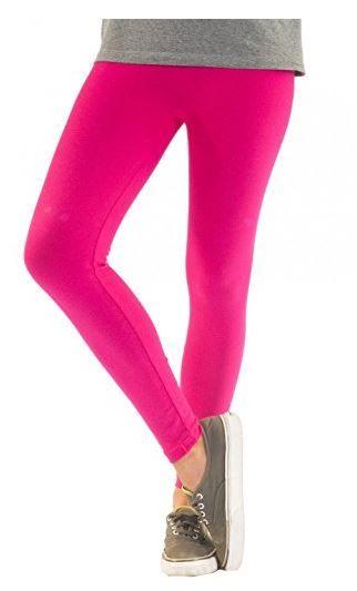 Blickdichte Damen Leggings aus Baumwolle Leggins Knöchellang in schwarz weiß grün grau rot gelb EUR 6,00 - EUR 10,98