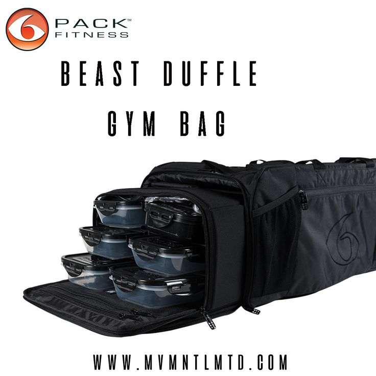 Designed to fit your entire 'A' game. The Beast Duffle holds up to 5 meals, features an extra large main compartment as well as dedicated shoe compartment, and insulated water/blender bottle pockets. #mealprep #foodprep #beastmode  ---------------------------------- ✅Follow Facebook : MVMNT. LMTD Worldwide shipping  mvmnt.lmtd  mvmnt.lmtd@gmail.com | Fitness Gym Fitspiration Gym Apparel Workout Bodybuilding Fitspo Yoga Abs Weightloss Muscle Exercise yogapants Squats