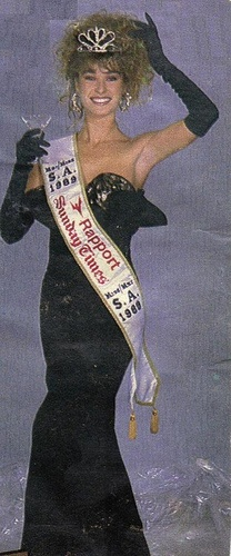 Michelle Bruce miss south africa 1989