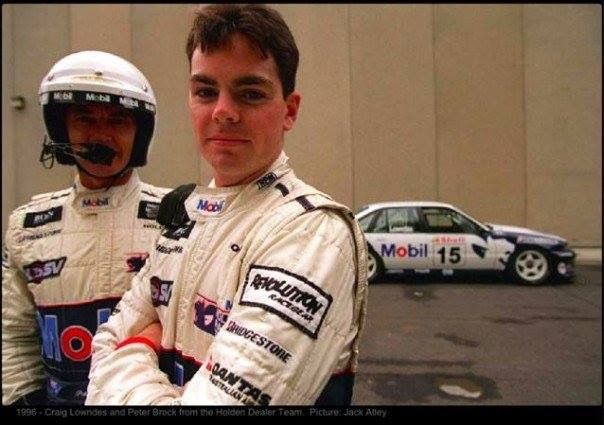 A young Craig Lowndes