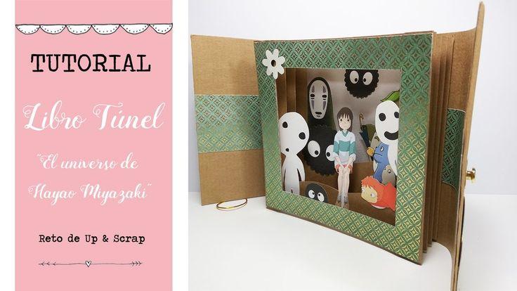 Libro túnel o Tunnel Book  - El universo de Hayao Miyazaki