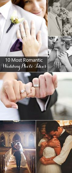 10 most romantic wedding photo ideas for your big day: