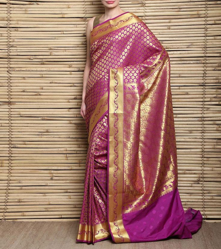 Pink #Kanjivaram #SilkSaree #Indianroots #flipkart