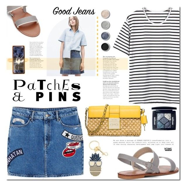 Patch It, Pin It, Perfect! by mada-malureanu on Polyvore featuring MANGO, MICHAEL Michael Kors, STELLA McCARTNEY, Christian Dior, Terre Mère and patchesandpins