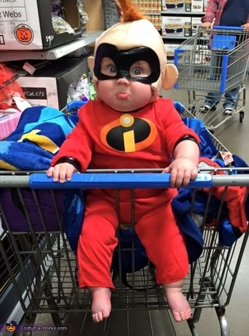 The Incredibles Jack-Jack Baby Costume Idea