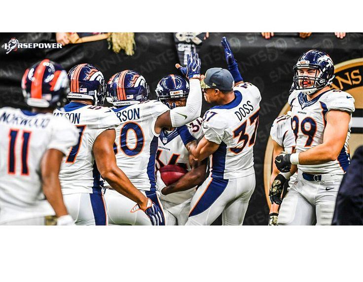 Broncos win @ New Orleans! #HorsePower