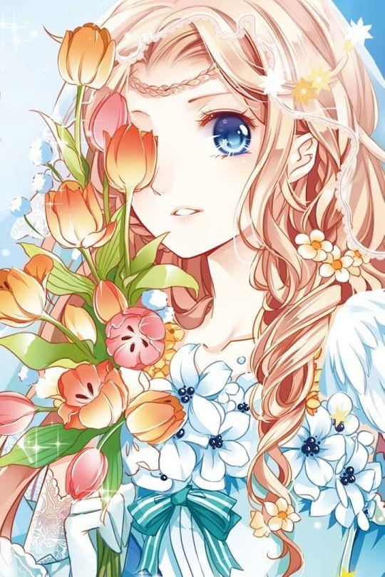 A Anime Girl muito bonita e fofa na minha opinião