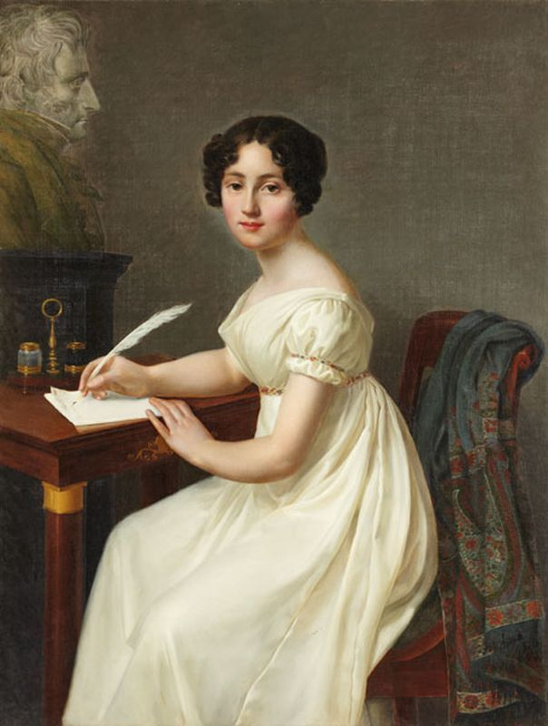 Henri-François Riesener (1767-1828) — Alix de Montmorency, Duchesse de…