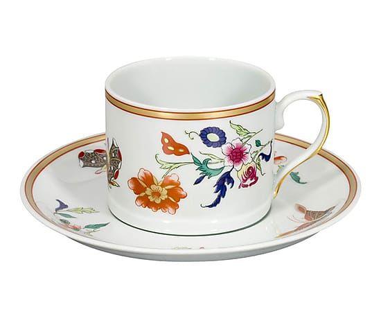 Šálek na čaj • ,malovaný porcelán