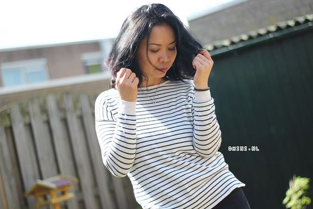 Fashion friday : black white stripes