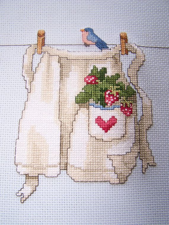 Completed Cross Stitch Sampler Needlework by WitsEndDesign on Etsy, $18.00