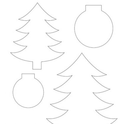 Christmas Tree & Ornament PatternsTrees Ornaments, Christmas Crafts Food, Trees Amp, Decor Trees, Christmas Ideas, Christmas Trees, Trees Templates, Christmas Tree Ornaments, Winter Christmas Crafts