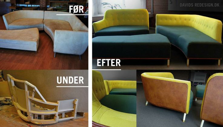 Old couch, redesigned/rebuild by Davids Redesign