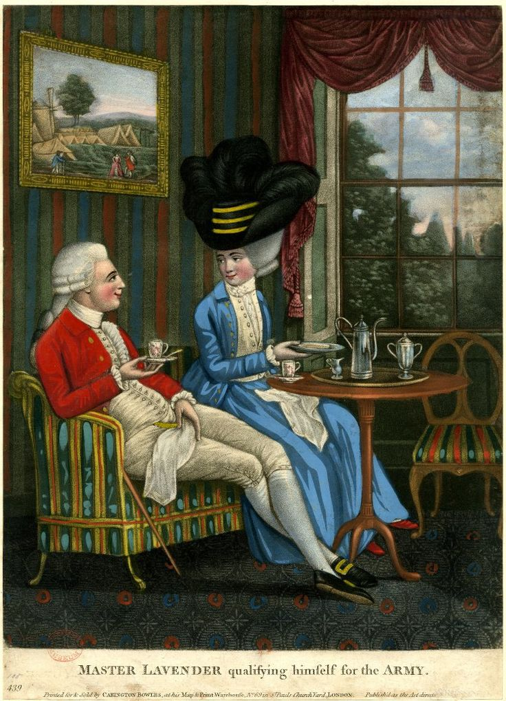 Image gallery: Master Lavender qualifying himself for the Army, 1781