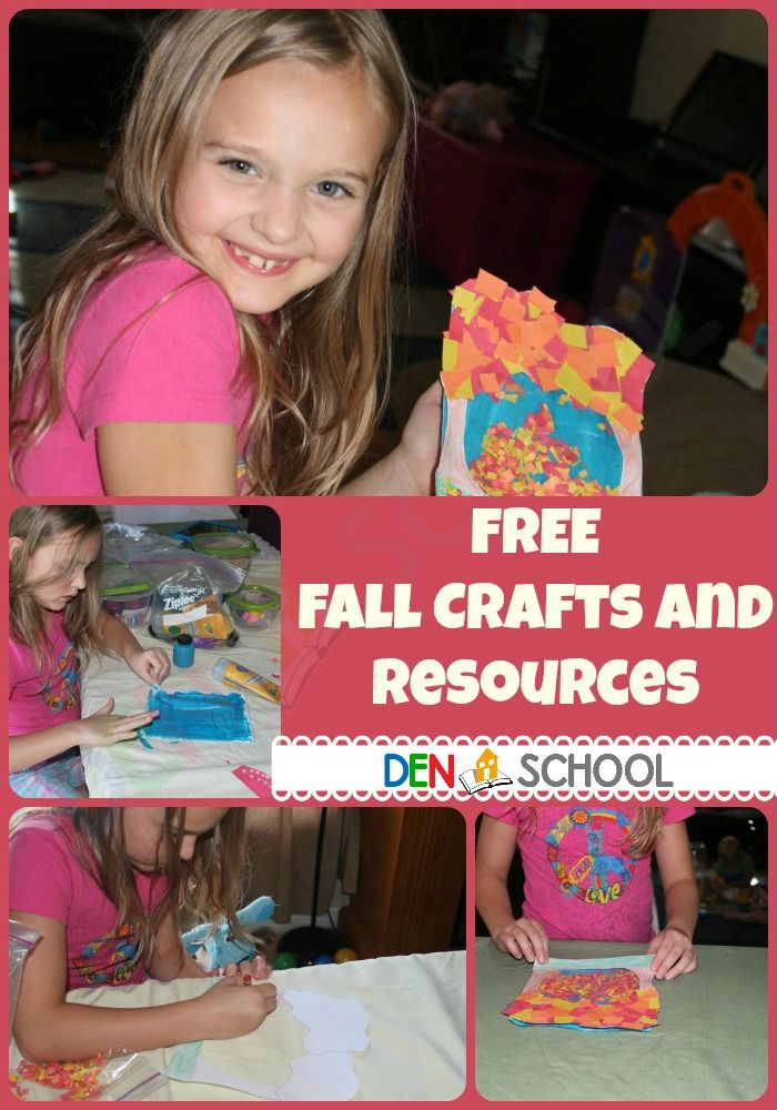 Kid Fall Crafts Ideas