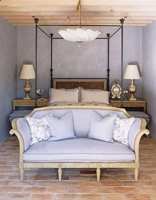 Simple Everyday Glamour...simple and beautiful! Love the color! Great light fixture!
