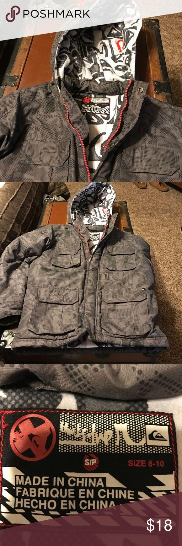 Boys Ski Jacket Quiksilver Heavy Ski/Snow jacket. Excellent condition. Quiksilver Jackets & Coats Puffers