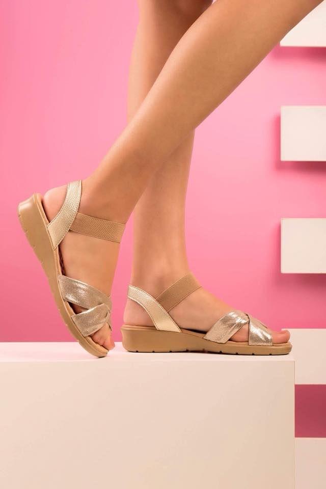 74155c750 Sandálias lindas e confortáveis para o seu dia na nossa coleção Primavera  Verão 2019. Confira