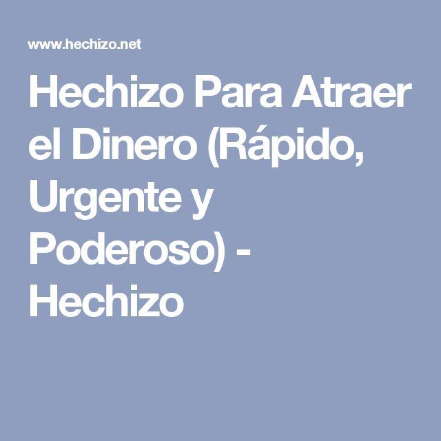 Hechizo Para Atraer el Dinero (Rápido, Urgente y Poderoso) - Hechizo