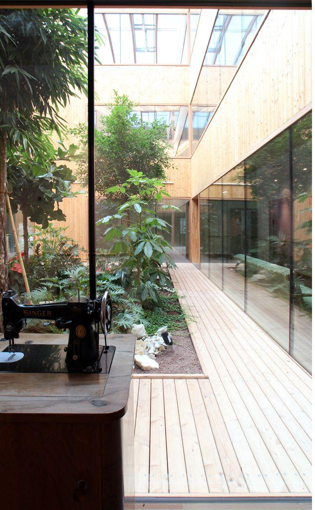 altenwohn und pflegeheim st peter klagenfurt dietger wissounig architekten architektur. Black Bedroom Furniture Sets. Home Design Ideas