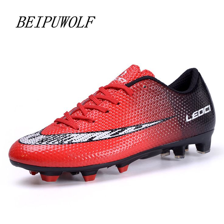 Boys Mens Kids Soccer Shoes Hard Court Outdoor Sneakers Trainers Adults Sport Shoes Soccer Cleats Football Boots 33-44