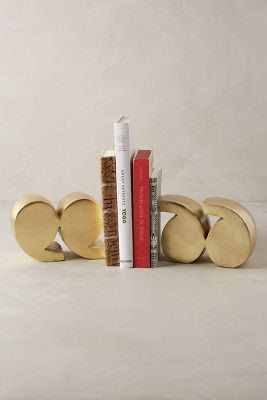 Trend: GOLD #anthrofave quotation mark bookends