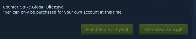 Selama Steam Summer Sale Kamu Tidak Akan Bisa Membeli CS:GO sebagai Gift. Ini Penjelasannya