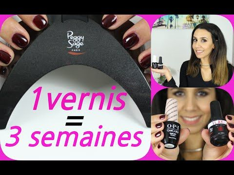(17) Garder son vernis à ongles 3 SEMAINE ?!!  les vernis semi permanent (OPI, Peggy Sage…) - YouTube