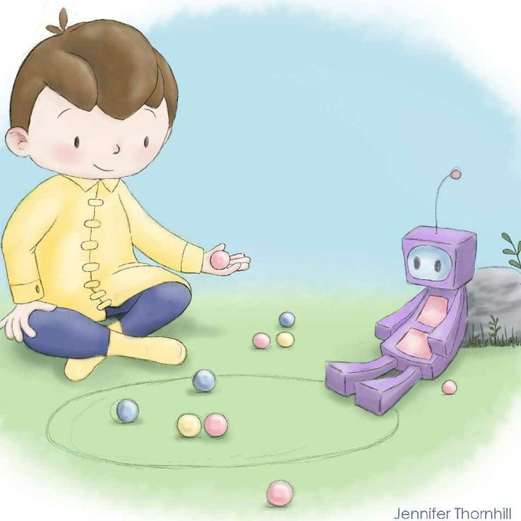 March of Robots illustration for daily prompt FUN. #marchofrobots #marchofrobots2018 #fun #illustration #illustrator #childrensillustration #picturebook #picturebookillustration