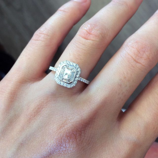 What does a $ Engagement Ring Look Like