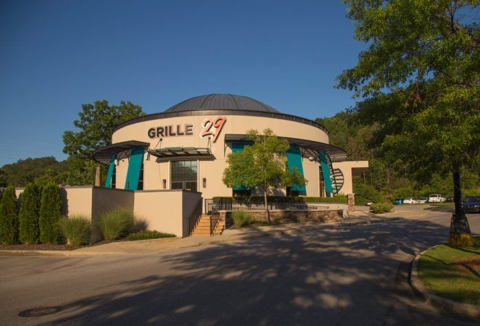 Grille 29 is one of Alabama's best steak and seafood restaurants. It has locations in both Birmingham and Huntsville.