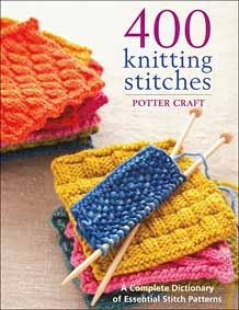 400 Knitting Stitches- definitely need this book