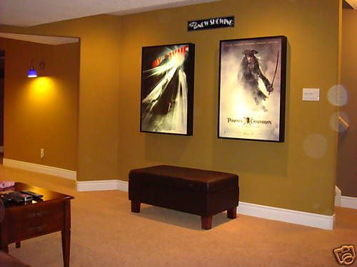 27x40 Movie Poster Light Box Display Frame Cinema Lightbox Decorate Your Theater