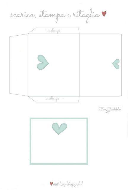 ♡ Biglietto di auguri per San Valentino free printable