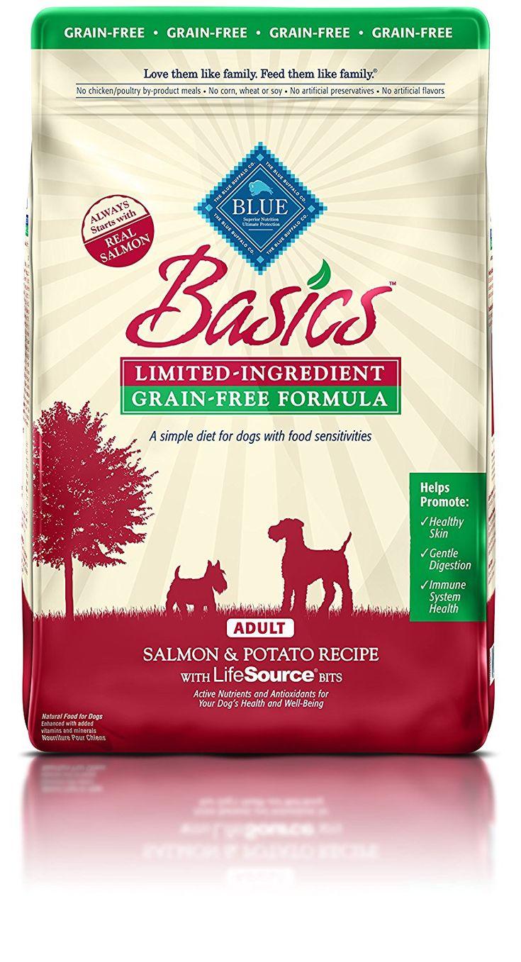 Blue basics limitedingredient formula adult dry dog food