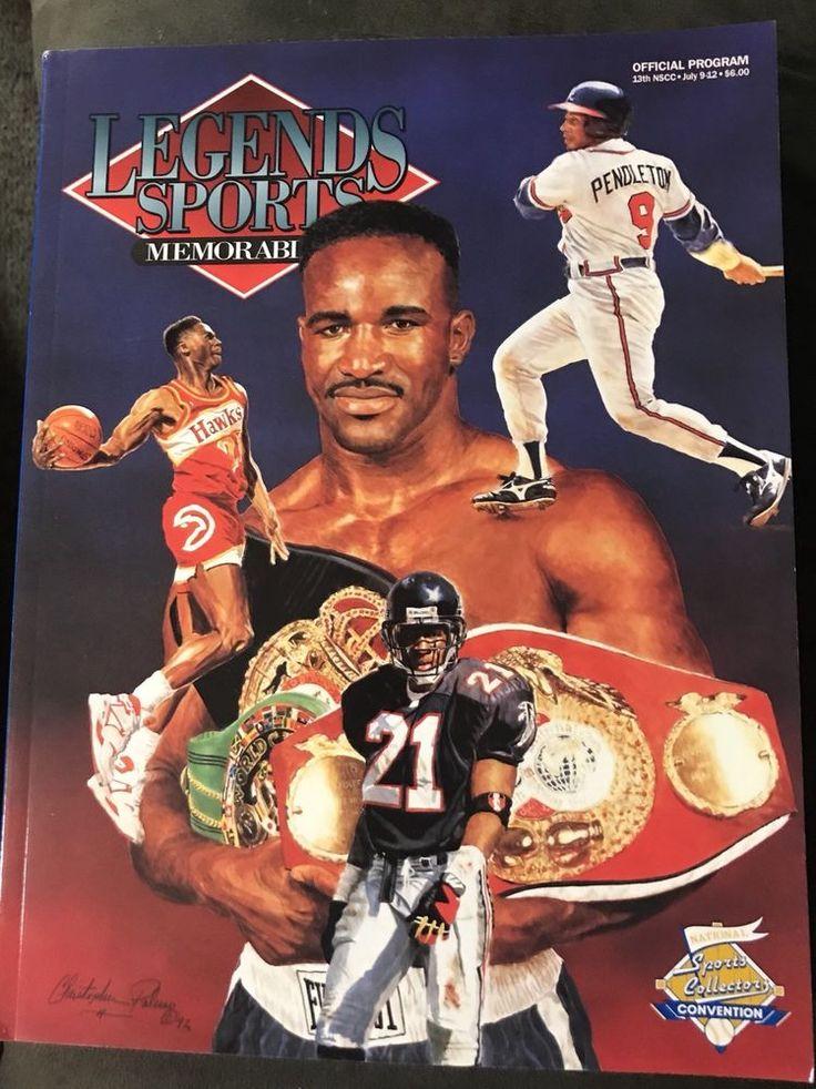 1992 deion sanders and evander holyfield legends sports