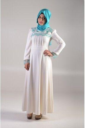 Livza Bayan Dantelli Ekru Elbise http://www.giyimdemoda.com.tr/yeni-sezon-elbise-modelleri/livza-elbise