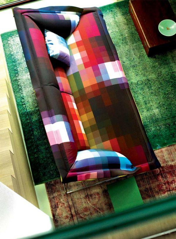 Tapetenmuster steinoptik wohnzimmer for Ka che streichen farbideen