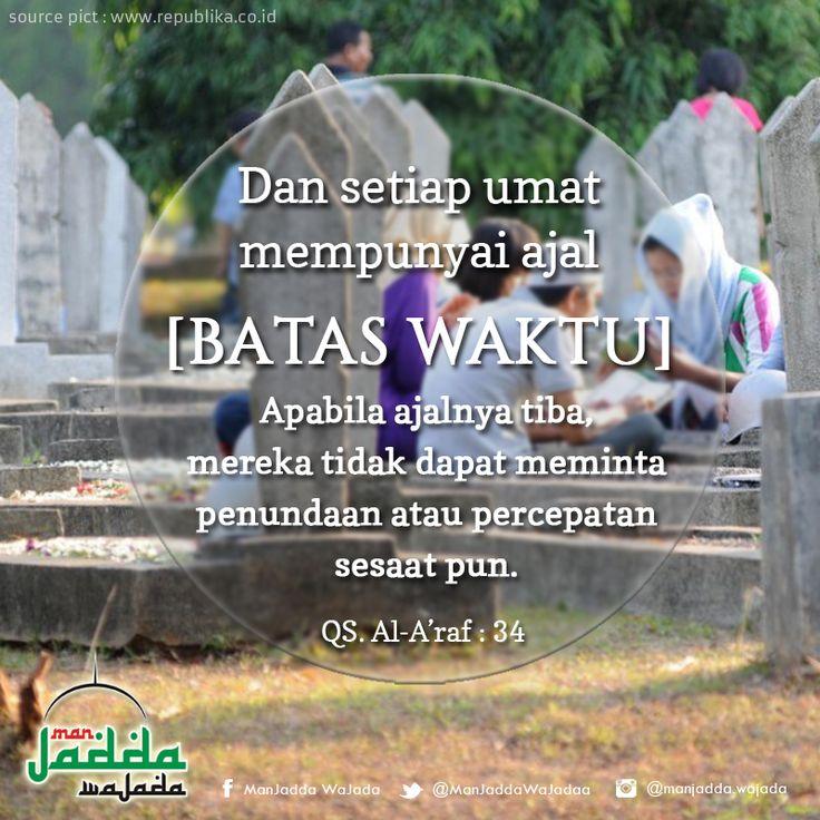 #batas #waktu #mati #kematian #death #ajal #quran #quote #islam #muslim