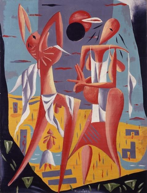 František Hudeček - Zatmění slunce (1932)