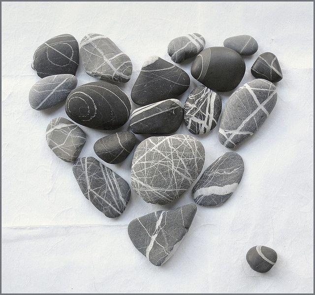 Cute pebble heart ;)