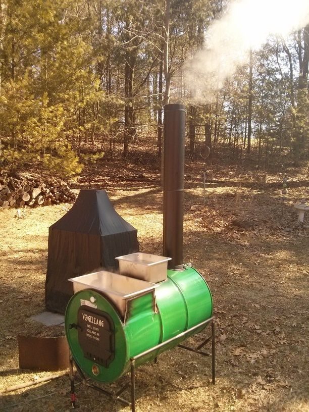 Homemade Maple Syrup Evaporator