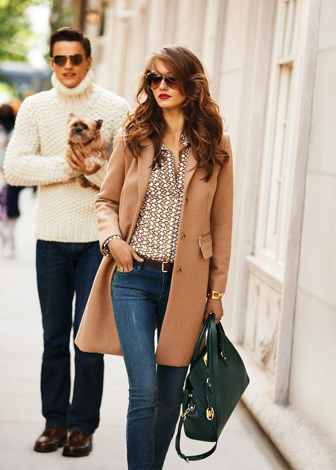 this fall: rich colors with a hint of print {micheal kors}