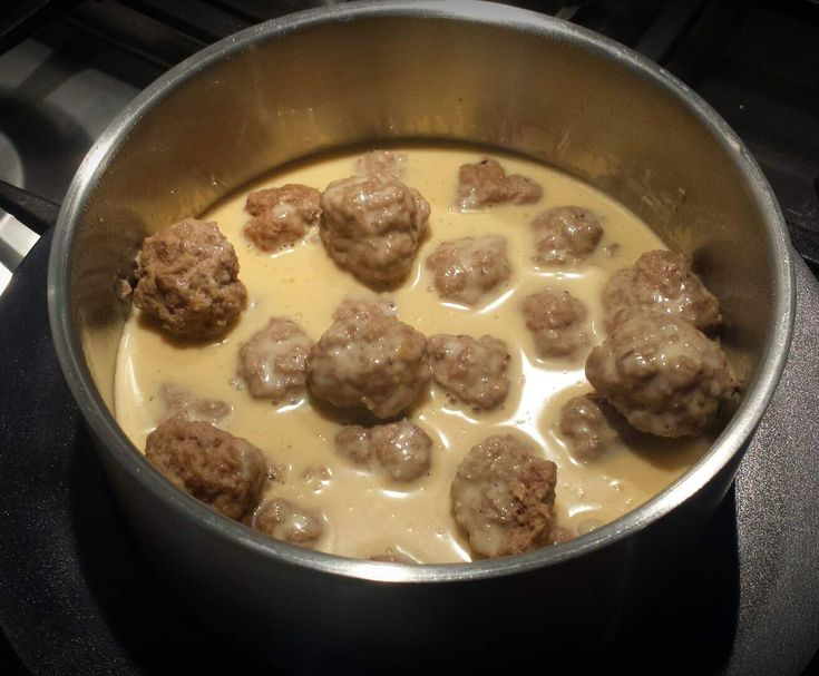 Recipe Swedish Meatballs by Spunkymonkey - Recipe of category Main dishes - meat