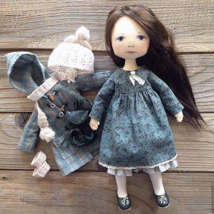 Купить или заказать Кукла с рюкзачком в интернет-магазине на Ярмарке Мастеров…