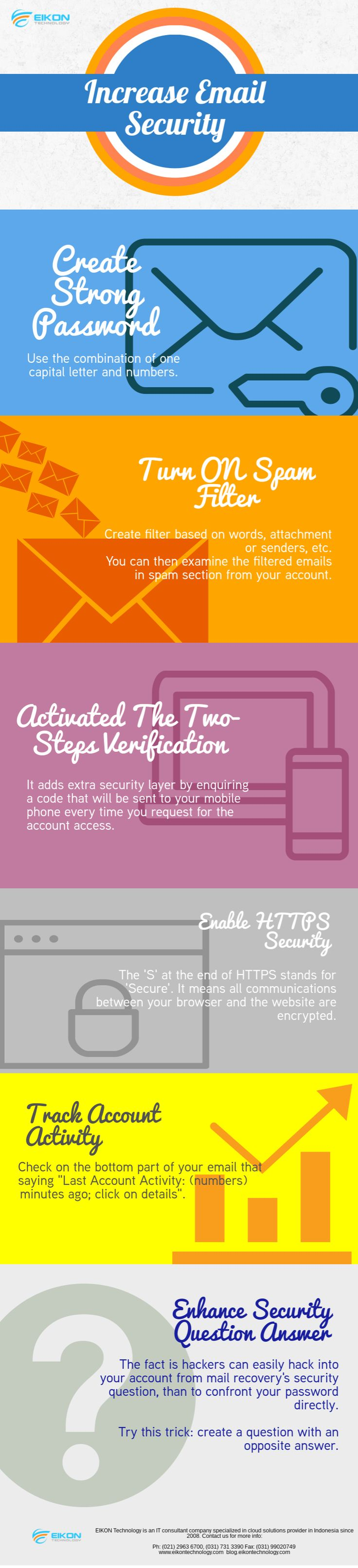 Here's the tip to increase #emailSecurity! #eikontechnology
