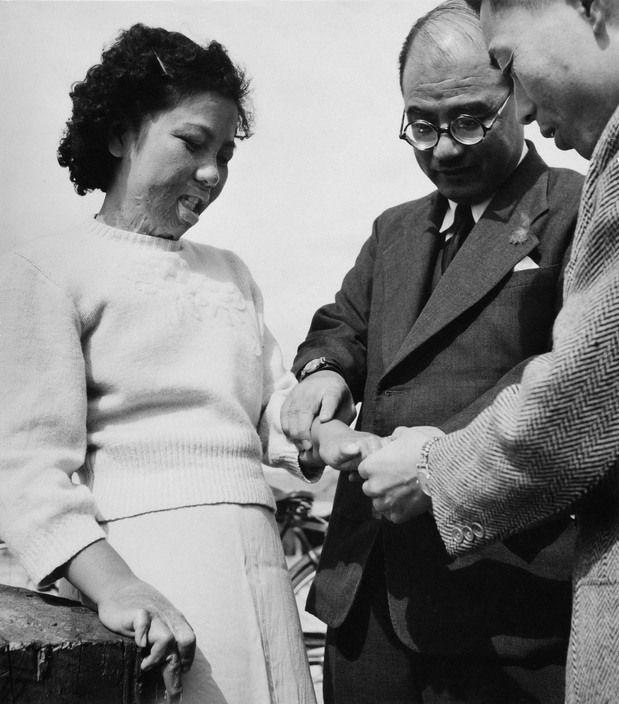 Magnum Photos - Hiroshima victim. 1951.