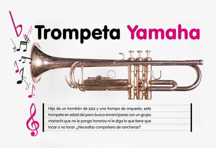 #Trompeta #Yamaha #Instrumento #Musica