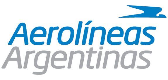 Aerolineas Argentinas typographic brand identity